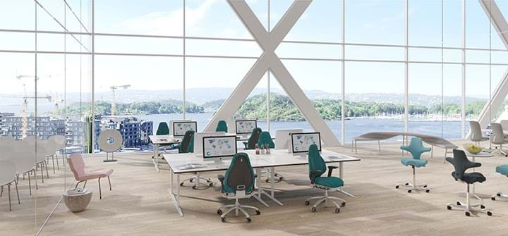 Leading seating manufacturer Scandinavian Business Seating promises furniture perfection under new house of brands: Flokk